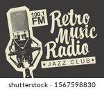 vector banner for radio station ... | Shutterstock .eps vector #1567598830
