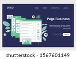 page business website ui design ...