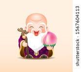 Longevity God Shouxing  Fuxing...