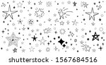 stars doodle set. hand drawn...   Shutterstock .eps vector #1567684516