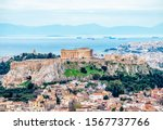 View Of The Acropolis Of Athens ...