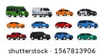 car icons collection. vector... | Shutterstock .eps vector #1567813906