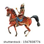 Ancient Assyrian Rider. Ancient ...