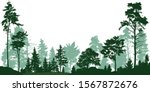 landscape of isolated trees.... | Shutterstock .eps vector #1567872676