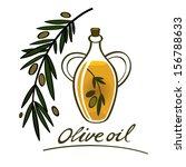 olive oil food ingredient... | Shutterstock .eps vector #156788633