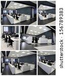 modern office | Shutterstock . vector #156789383