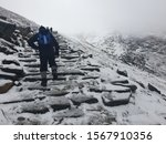 Snowdon  Wales 02 02 2019 ...