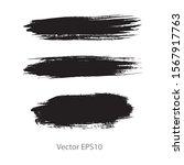 brush strokes watercolor... | Shutterstock .eps vector #1567917763