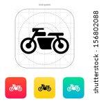 motorbike icon. vector...