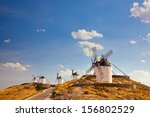 Group Of Windmills In Campo De...