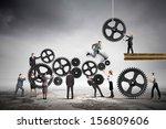 conceptual image of... | Shutterstock . vector #156809606