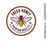 fresh honey natural organic...   Shutterstock .eps vector #1568104333
