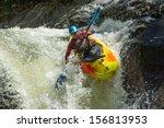Waterfall Kayak Jump Sangay...