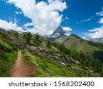 Zermatt  Switzerland   July 4 ...