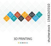 3d printing trendy ui template...