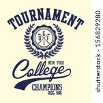 golf sports graphic design... | Shutterstock .eps vector #156829280