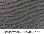 Black Sand Closeup Texture...