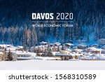 World  Economic Forum 2020 in DAVOS, SWITZERLAND.