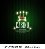 casino vector background | Shutterstock .eps vector #156831128