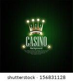 casino vector background | Shutterstock .eps vector #156831128