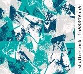 seamless abstract grunge urban... | Shutterstock .eps vector #1568349556