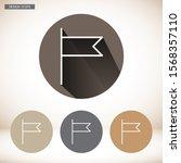 vector icon      10 eps . lorem ... | Shutterstock .eps vector #1568357110