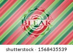 bleak christmas colors emblem....   Shutterstock .eps vector #1568435539