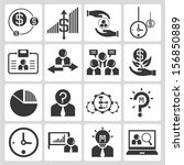 organization and business... | Shutterstock .eps vector #156850889