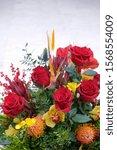 A Beautiful Bouquet Of Fresh...