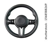 Steering Wheel  Isolated On The ...