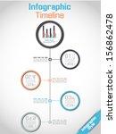 infographic timeline modern... | Shutterstock .eps vector #156862478