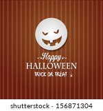 halloween background | Shutterstock .eps vector #156871304