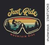 Just Ride Mountain Bike Vintage ...