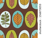 vector seamless pattern with... | Shutterstock .eps vector #156873053