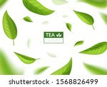 realistic 3d detailed bright... | Shutterstock .eps vector #1568826499