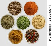 Various Spices Presented In...