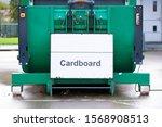Cardboard Recycle Green Bin...
