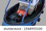 3d Render Of Tugboat Emilka