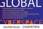 global cyberspace   16x9...   Shutterstock .eps vector #1568987896