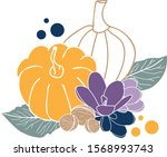 vector illustration with... | Shutterstock .eps vector #1568993743