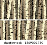 set of horizontal banners with... | Shutterstock .eps vector #1569001750