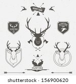 adventure,aiming,animal,antler,arrow,badge,bird,club,deer,duck,duck hunting,emblem,hunting,hunting deer,hunting gun