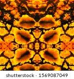 Orange And Green Wild Pattern....