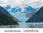 Sawyer Glacier Sits At The Tip...