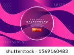 dynamic colorful gradient... | Shutterstock .eps vector #1569160483