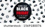 black friday sale promotional... | Shutterstock .eps vector #1569180076