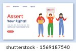 assert your rights landing page ...