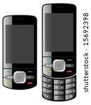 mobile phone | Shutterstock .eps vector #15692398