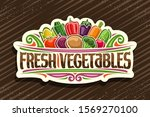 vector logo for fresh... | Shutterstock .eps vector #1569270100