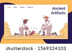 ancient artifacts landing page...